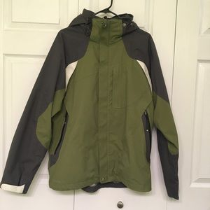 Columbia Waterproof Omni Tech Titanium Jacket Md